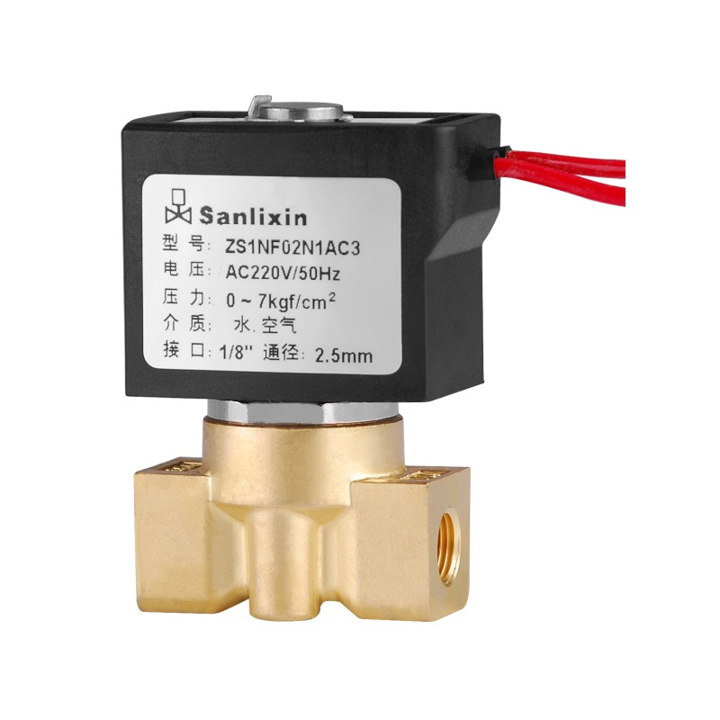 ZS Compact Series 2/2-way Direct Acting Solenoid Valve·Normally Closed