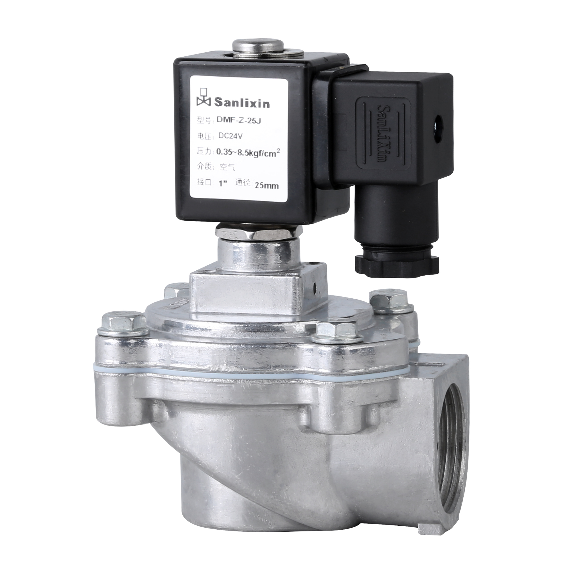 DMF-Z Right Angel Type latching Solenoid Valve