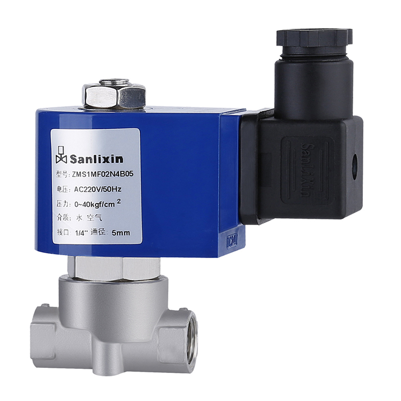 SMS Series 2/2-way Direct Acting Solenoid Valve Normally Closed
